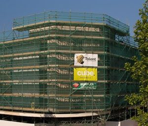 hull scaffolding project